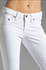 Image 4 of True Religion Serena High Rise Super Skinny in Optic White
