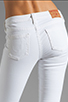 Image 6 of True Religion Serena High Rise Super Skinny in Optic White