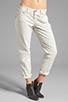 Image 1 of True Religion Overdye Cameron Boyfriend Jeans in Stone Grey
