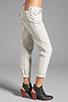 Image 2 of True Religion Overdye Cameron Boyfriend Jeans in Stone Grey