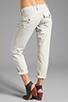 Image 3 of True Religion Overdye Cameron Boyfriend Jeans in Stone Grey