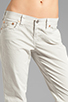 Image 4 of True Religion Overdye Cameron Boyfriend Jeans in Stone Grey