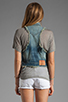 Image 3 of True Religion Leah Cut Off Vest in Point Dune
