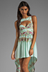Image 1 of This is a Love Song Marina Del Ray Dress in Tropical