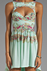 Image 5 of This is a Love Song Marina Del Ray Dress in Tropical