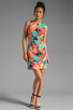 Image 2 of Trina Turk Biscayne Palm District Dress in Multi