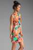 Image 3 of Trina Turk Biscayne Palm District Dress in Multi