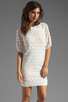 Image 1 of Trina Turk Bonfire Dress in White Wash