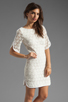 Image 3 of Trina Turk Bonfire Dress in White Wash