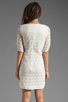 Image 4 of Trina Turk Bonfire Dress in White Wash