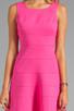 Image 5 of Trina Turk Tropical Ponte Nikola Tank Dress in Barbie Pink