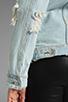 Image 6 of UNIF Outsider Denim Jacket in Blue