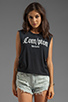 Image 1 of UNIF .COM Graphic Tank in Black