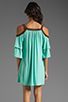 Image 4 of VAVA by Joy Han Piper Dress with Suede Trim in Mint