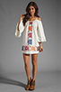 Image 2 of VAVA by Joy Han Anna Embroidered Dress in White