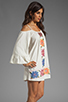 Image 3 of VAVA by Joy Han Anna Embroidered Dress in White