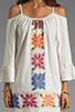 Image 5 of VAVA by Joy Han Anna Embroidered Dress in White