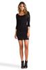 Image 2 of Velvet by Graham & Spencer Gauzy Whisper Jessamine Dress in Black