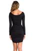 Image 4 of Velvet by Graham & Spencer Gauzy Whisper Jessamine Dress in Black
