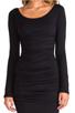 Image 5 of Velvet by Graham & Spencer Gauzy Whisper Jessamine Dress in Black