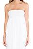 Image 5 of Velvet by Graham & Spencer Gauzy Whisper Alia Dress in White