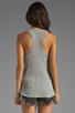Image 2 of Velvet by Graham & Spencer Cambria Textured Knit Tank in Heather Grey