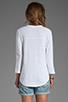 Image 2 of Velvet by Graham & Spencer Filia Organic Top in White
