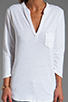 Image 3 of Velvet by Graham & Spencer Filia Organic Top in White