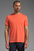 Image 1 of Vince Favorite Jersey Tee in Coral Reef