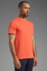 Image 2 of Vince Favorite Jersey Tee in Coral Reef