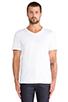 Image 1 of Vince Favorite Jersey V-Neck in White
