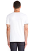 Image 3 of Vince Favorite Jersey V-Neck in White