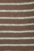Image 4 of Vince 100% Linen Breton Striped Boatneck in Earth and Sailcloth