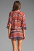 Image 4 of Vix Swimwear Zambia Chemise Tunic in Multi