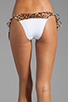 Image 3 of Sofia By Vix Swimwear Austin Long Tie Bottom in White