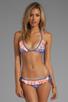 Image 1 of Sofia By Vix Swimwear Southwest Ruffle Tri Top in Multi