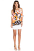 Image 4 of VOOM by Joy Han Ava Blouson Dress in White