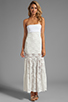 Image 2 of VOOM by Joy Han Kylie Strapless Dress in White