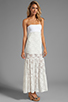 Image 3 of VOOM by Joy Han Kylie Strapless Dress in White