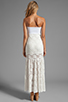 Image 4 of VOOM by Joy Han Kylie Strapless Dress in White