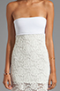 Image 5 of VOOM by Joy Han Kylie Strapless Dress in White