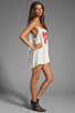 Image 3 of Wildfox Couture Pin Up Heart Bells Beach Dress in Bright Cloud