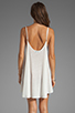 Image 4 of Wildfox Couture Pin Up Heart Bells Beach Dress in Bright Cloud