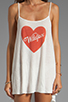 Image 5 of Wildfox Couture Pin Up Heart Bells Beach Dress in Bright Cloud