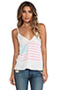 Image 1 of Wildfox Couture Pastel America Paradise Cami in Bright Cloud