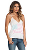 Image 2 of Wildfox Couture Pastel America Paradise Cami in Bright Cloud