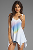 Image 1 of Wildfox Couture Amour Amour Heart Tank in Clean White