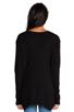 Image 3 of Wilt Slub Jersey Slouchy BF Long Sleeve in Black