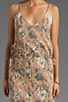 Image 5 of Winter Kate Swan Dress in Identity Latte/Ivory Lace