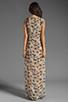 Image 4 of Winter Kate Evania Dress in Wed Latte/Butterflies Latte